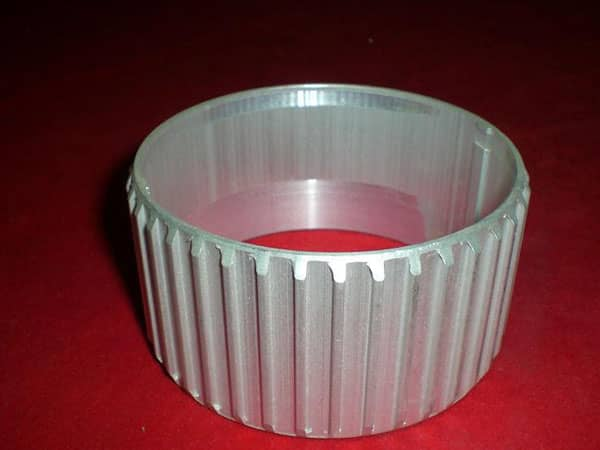 Aluminum Extrusion Part with Gear