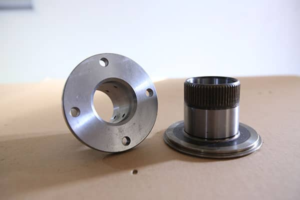 CNC Machining Part with Gear