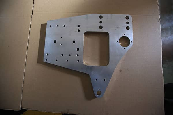 Milled and Drilled CNC Machining Part