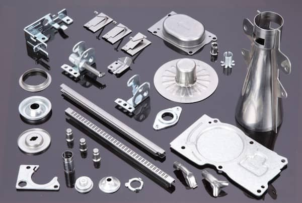 Galvanized Metal Stamping Part